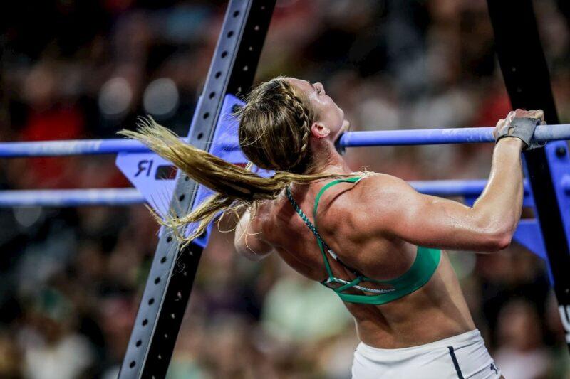 La atleta Brooke Wells en los CrossFit Games