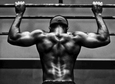 Espalda fuerte con dominadas
