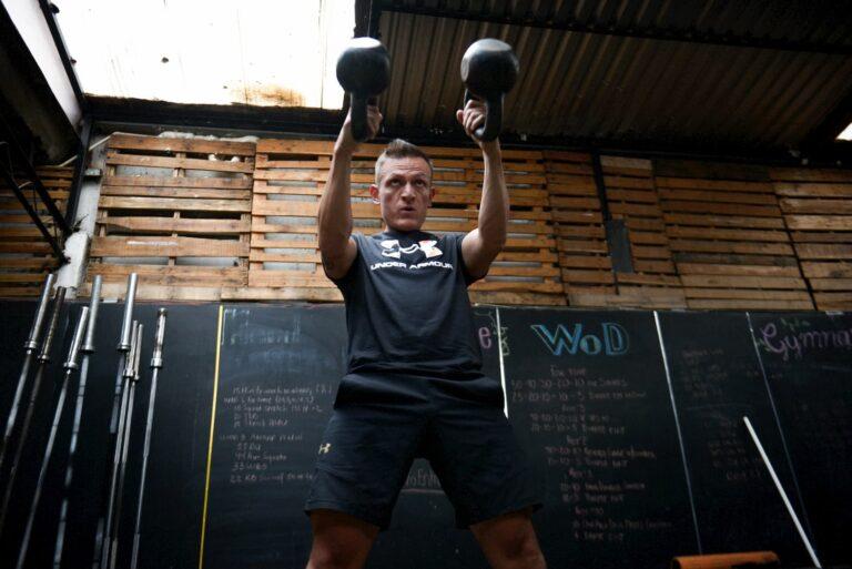 El entrenador de CrossFit Jorge Francia