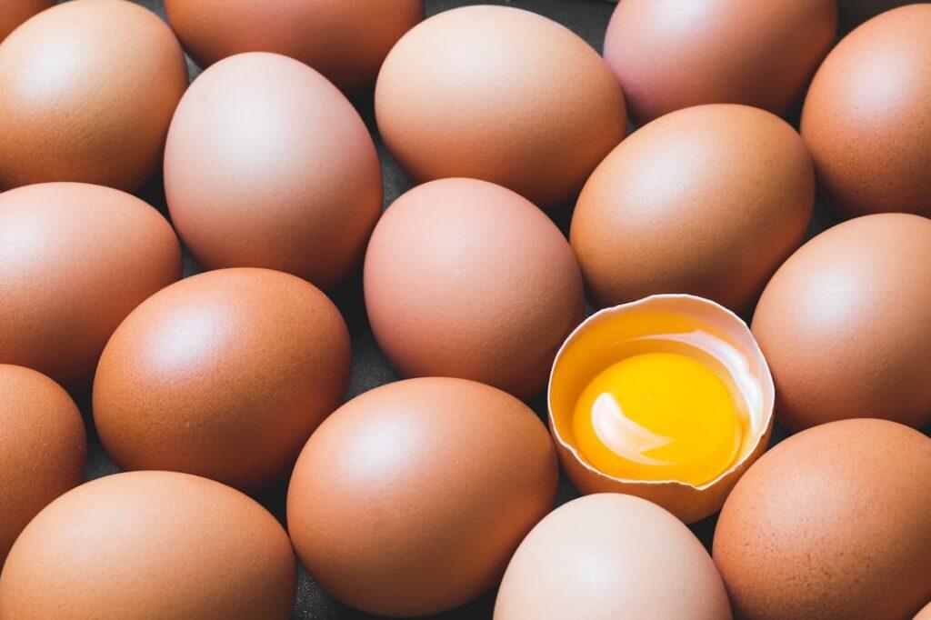 El huevo está lleno de proteínas