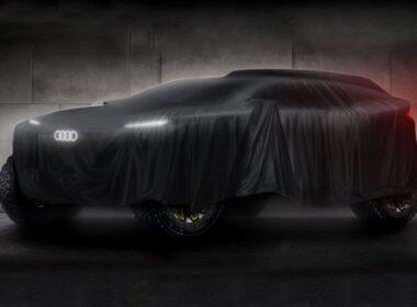 Audi 2022 Dakar eRacer