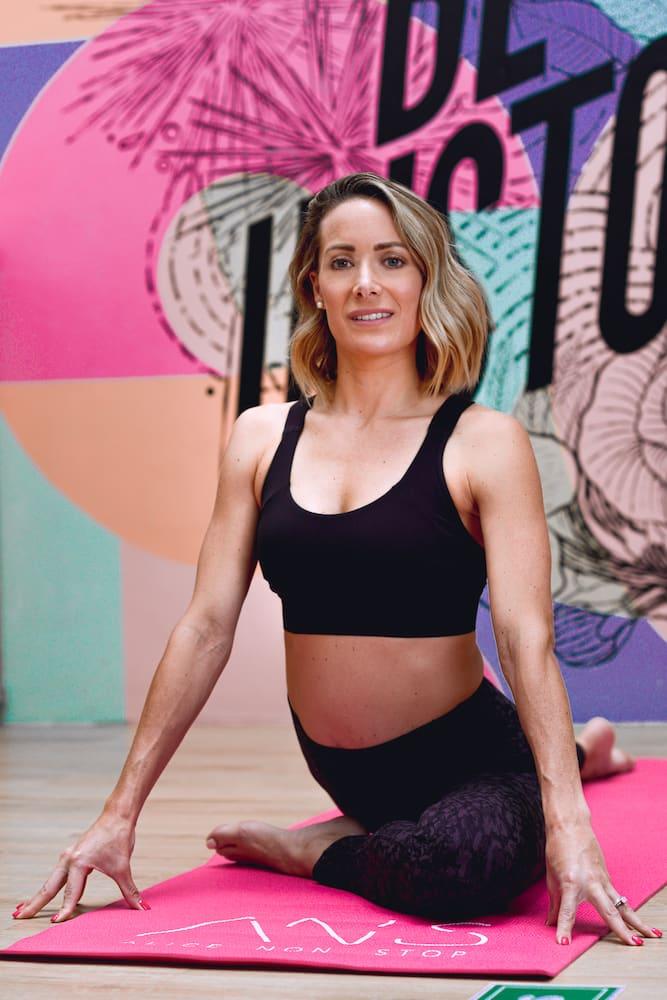 Alicia es entrenadora, atleta y mamá
