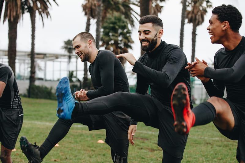 Estirar antes de hacer ejercicio