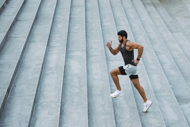 Running escaleras