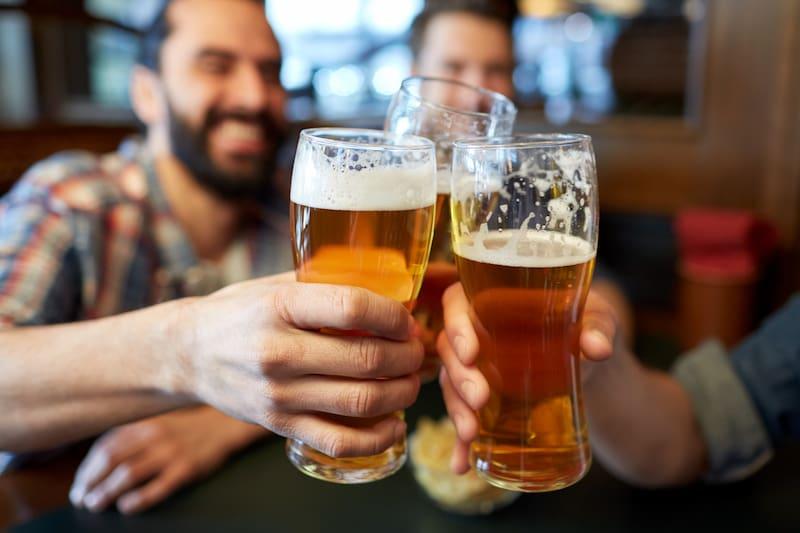 Cerveza hidratación