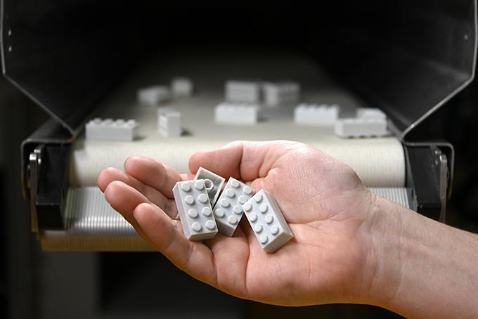 Ladrillos Reciclados de Lego