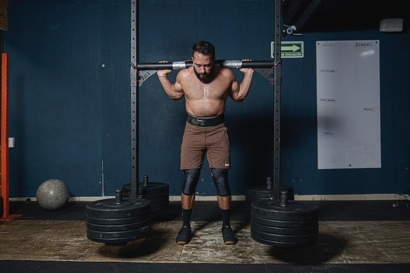 Strongman yoke