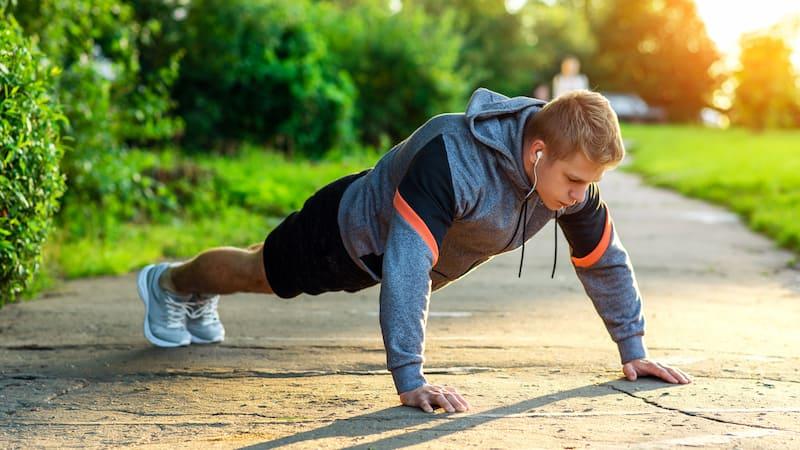 Flexiones y salud cardiaca